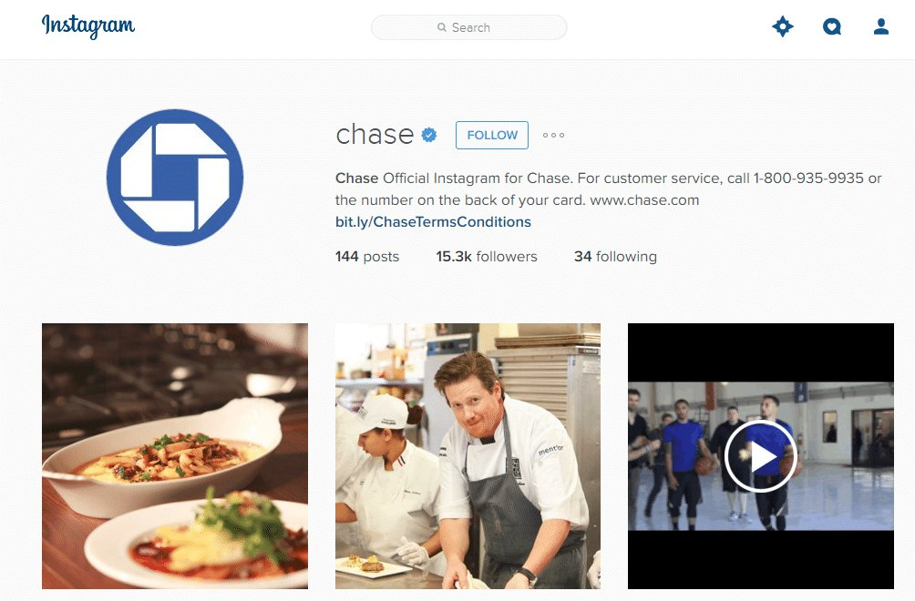 Chase Instagram